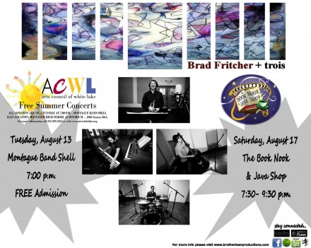 """BBP & ACWL presents, """"An Evening with Brad Fritcher + trois""""!"""