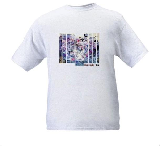 Limited Edition Brad Fritcher + trois Album Art T-shirt