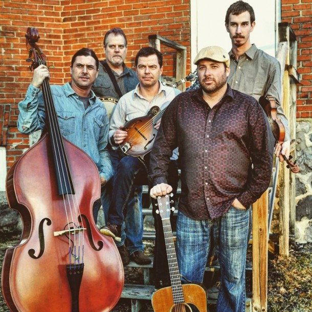 Journeymen at Charlotte Bluegrass Fest in June